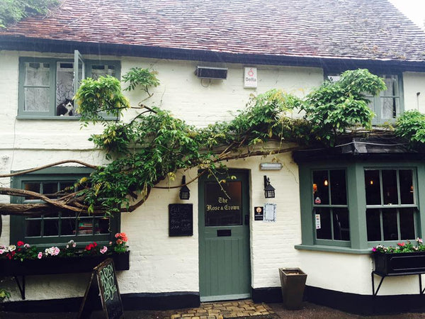 The Rose and Crown pub near Rickmansworth England