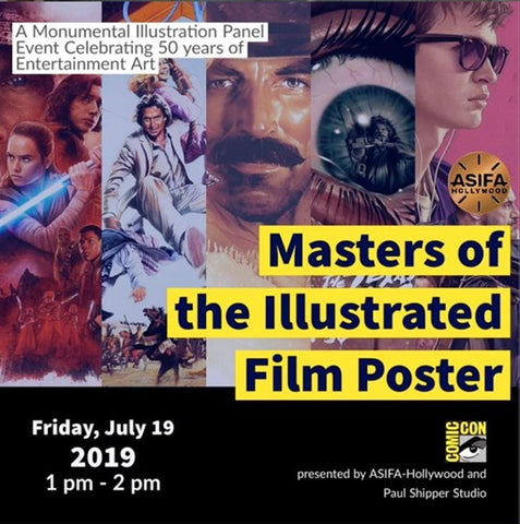 Masters of the Illustrated Movie Poster at San Diego Comic Con