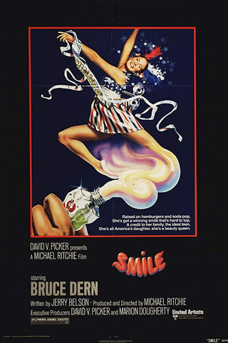 An original movie poster for Smile by John Alvin