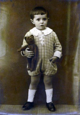 Stanislaw Lem as a child