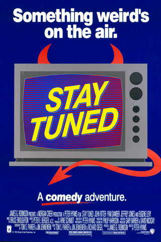 An original movie poster for the film Stay Tuned