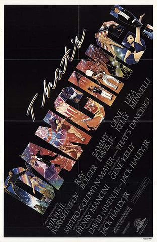 An original movie poster for the film That's Dancing by John Alvin