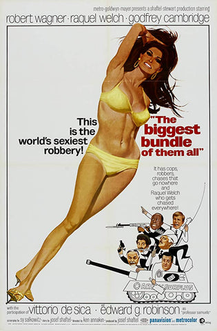 An original movie poster for the film The Biggest Bundle Of Them All