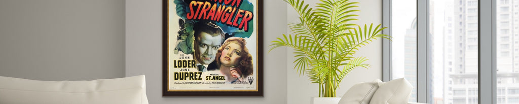 The Brighton Strangler One Sheet Movie Poster Shown in Room