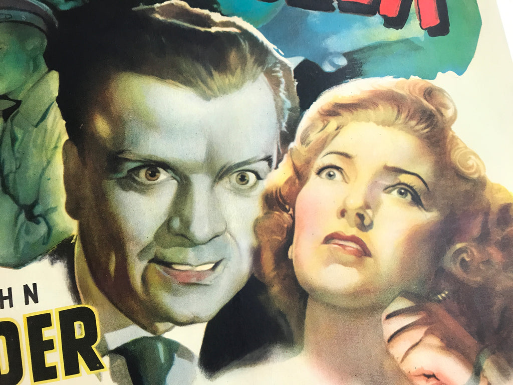Detail of The Brighton Strangler One Sheet Movie Poster