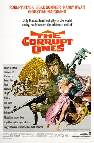 A movie poster by Frank McCarthy for the film The Corrupt Ones