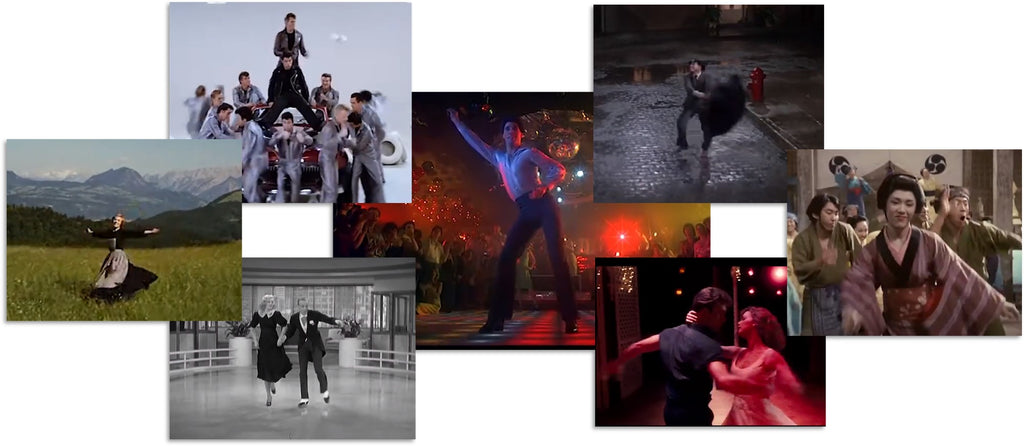 A celebration of dancing in the movies