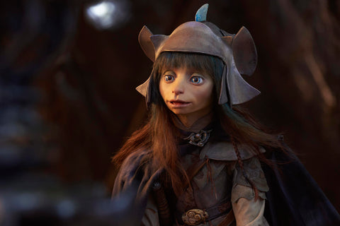 Rian from the Dark Crystal Age of Resistance, voiced by Taron Egerton