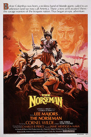An original movie poster for the film The NorseMan