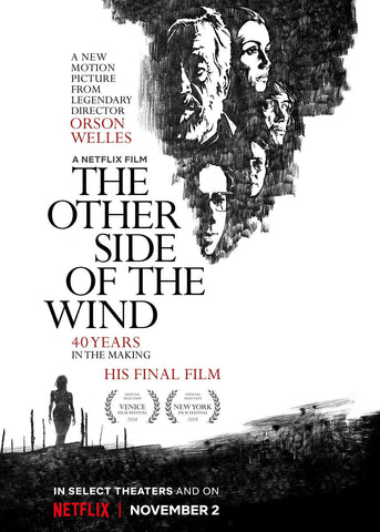Steve Chorney artwork for the movie The Other Side of the Wind