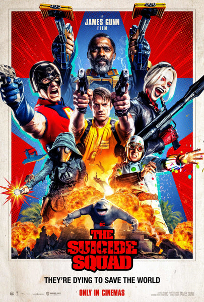 The movie poster for the DC film The Suicide Squad
