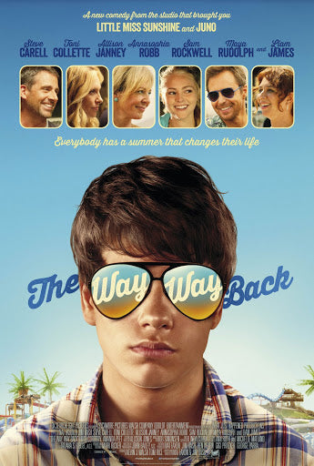 An original movie poster for the film The Way, Way Back