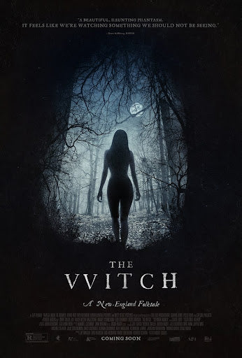 An original movie poster for the A24 film The Witch
