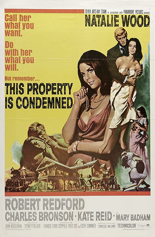 A movie poster by Frank McCarthy for the film This Property Is Condemned