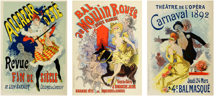 Three Jules Cheret posters #1