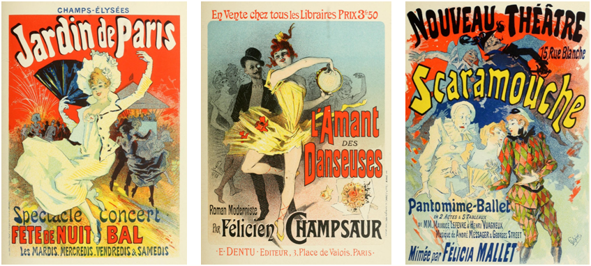 Three Jules Cheret Posters #2
