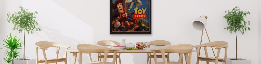 An original movie poster for Toy Story