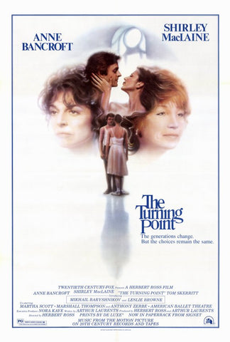An original movie poster for The Turning Point by John Alvin
