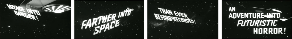 Stills from the movie trailer for the fil Voyage to the end of the Universe