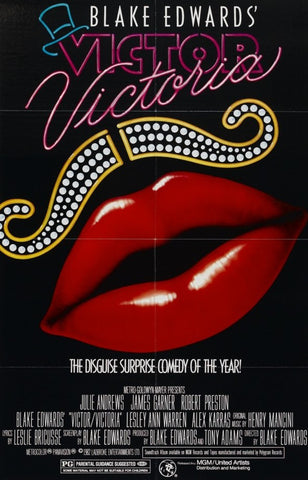 An original movie poster for the film Victor Victoria by John Alvin