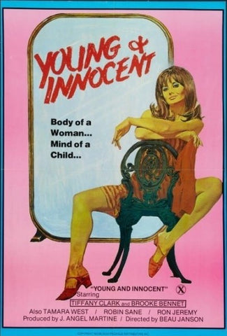 An original movie poster for the film Young and Innocent