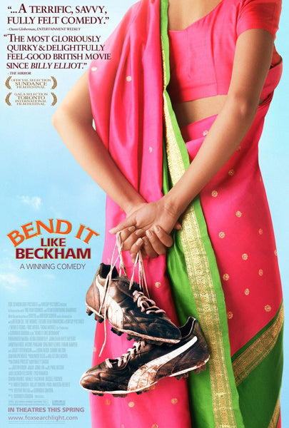 An original movie poster for the film Bend It Like Beckham