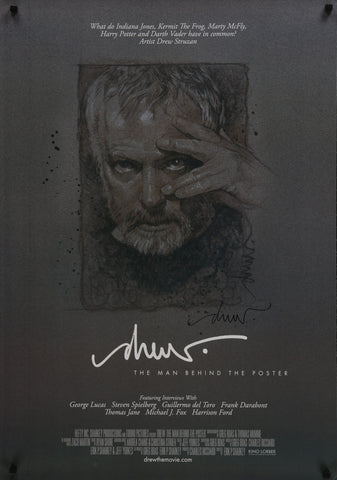 An original movie poster for the film Drew : The Man Behind The Poster