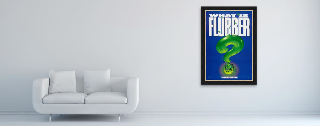 A movie poster for the film Flubber
