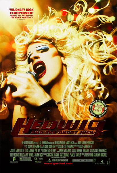 An original movie poster for Hedwig and the Angry Itch