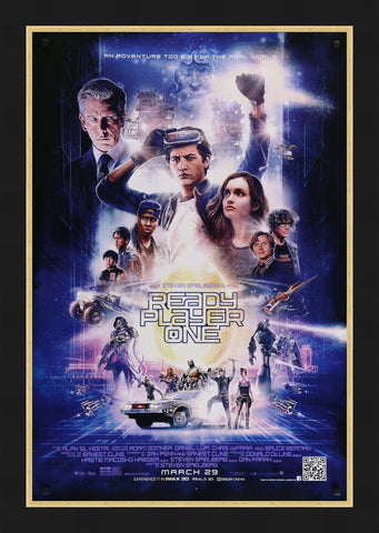 Paul Shipper's movie poster for Ready Player One