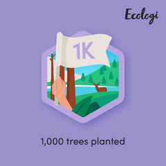 1000 trees planted to date
