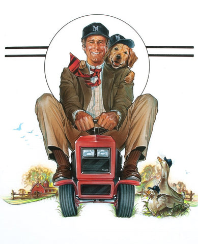 The movie poster for the film Funny Farm