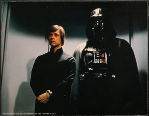 An original theatrical still from the Star Wars film Return of the Jedi