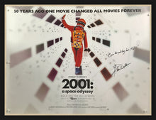 Load image into Gallery viewer, An original movie poster for the film 2001 A Space Odyssey