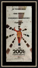 Load image into Gallery viewer, An original movie poster for the Kubrick film 2001 A Space Odyssey