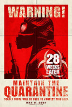 Load image into Gallery viewer, An original movie poster for the zombie horror film 28 Weeks Later