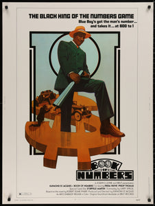 An original movie poster for the Raymond St Jacque film Book of Numbers