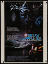 Load image into Gallery viewer, An original movie poster for the film The Last Starfighter