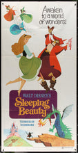 Load image into Gallery viewer, An original three sheet movie poster for the Disney film Sleeping Beauty