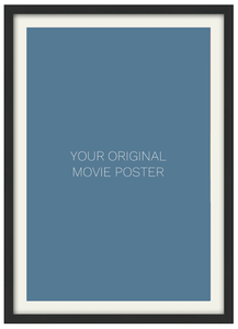 Frame for a 27 x 40 One Sheet Movie Poster