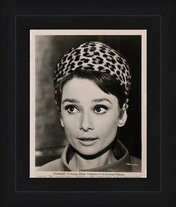 An original theatrical still from the Audrey Hepburn film Charade