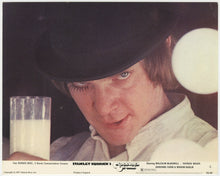 Load image into Gallery viewer, An original lobby card for Stanley Kubrick's A Clockwork Orange
