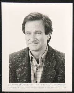 An original movie still of Robin Williams from 'Jumanji'