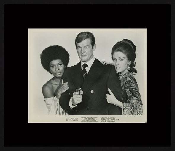 An original movie still for the James Bond film Live and Let Live