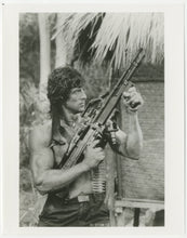 Load image into Gallery viewer, An original movie still from the Sylvester Stallone film Rambo 2 : First Blood