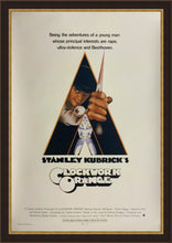 Load image into Gallery viewer, An original movie poster for the Stanley Kubrick film A Clockwork Orange