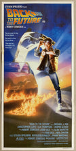 Load image into Gallery viewer, An original movie poster for the film Back to he Future