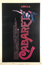 Load image into Gallery viewer, An Original One Sheet Movie Poster for the film Cabaret