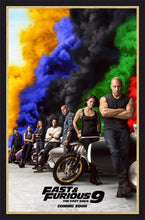Load image into Gallery viewer, An original movie poster for the film Fast and Furious 9