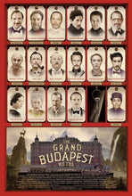 "Load image into Gallery viewer, An original movie poster for the Wes Anderson film ""The Grand Budapest Hotel"""